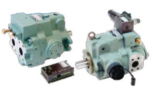 Yuken A Series Variable Displacement Piston Pumps A56-L-R-09-C-16M-K-32