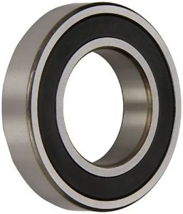 NSK 6204VV Deep Groove Ball Bearing, Single Row, Double Sealed, Non-Contact,
