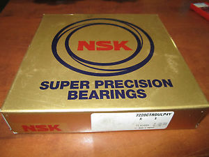NSK Super Precision Bearings 722OCTRDULP4Y Set of two – new