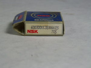 NSK 6003DDUC3E**AV2S705 Ball Bearing NEW