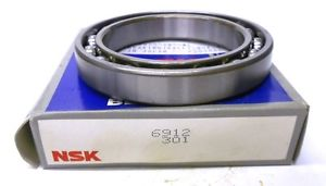 NSK BEARING, 6912, OPEN, JAPAN, 60 X 85 X 13 MM