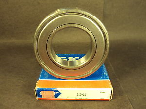 SKF 212 2Z, Single Row Radial Bearing (Fafnir 212KDD, NSK 6212 ZZ, NTN)