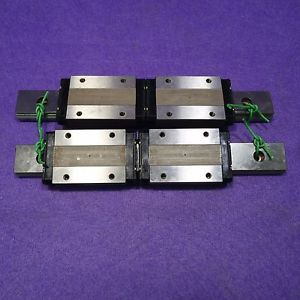 NSK LE090150ULK2-01P51 LM Guide Linear Bearing 1Rail 1Block Lot of 2 , USED