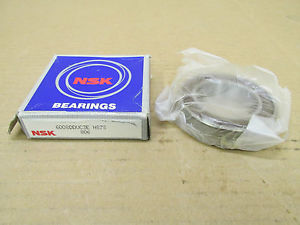 1 NIB NSK 6008DDUC3E BEARING RUBBER SHIELD BOTH SIDES 6008DD 6008D 6008 D DD CE