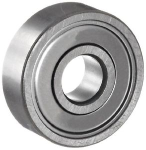 NSK 6201ZZ Deep Groove Ball Bearing, Single Row, Double Shielded, Pressed Steel