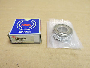 NIB NSK 6202ZZC3 BEARING METAL SHIELD BOTH SIDES 6202 ZZ C3 15x35x11 mm NEW