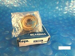 KOYO 608 ZZ CM, 2Z,Single Row Radial Bearing(=2 MRC 38FF, SKF, NTN, FAG 2ZR,NSK)