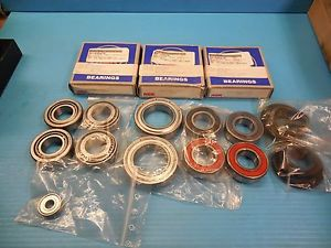 NEW 9PC LOT OF NSK & NTN BEARINGS 6911 LLU 4T3020 SPX1 6008Z 6205LU 629X502C3