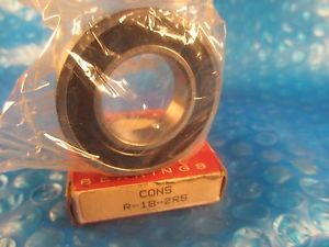 SMT, Consolidated, R182RS, R18 2RS, Small Inch-Size Ball Bearing (=2 SKF,NSK VV)