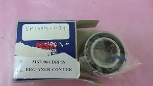 2 NSK Bearings MS7006CDBP5S BRG-ANLR-CONT BK SP1994-1134 406514