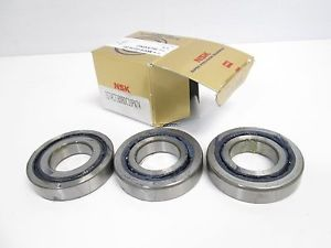 New NSK 35TAC72BDBDC10PN7A Bearing, 72mm OD, 35mm ID, 15mm Thick, Box Contains 3