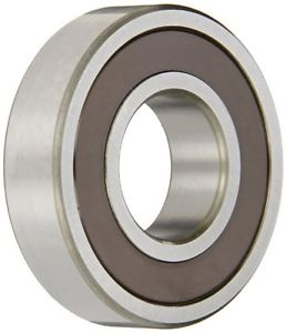 NSK 6303DDUC3 Deep Groove Ball Bearing, Single Row, Double Contact Seals,