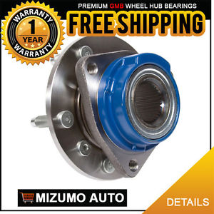 1 New Front Left or Right Wheel Hub Bearing Assembly w/o ABS GMB 730-0179