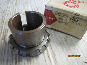 """SKF SNW ADAPTER ASSEMBLY SNW 10 X 1-11/16"""" SNW10X11116 1-11/16"""" Bore NIB"""