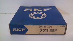 NEW OLD STOCK! SKF ANGULAR CONTACT BALL BEARING 7211-BEP