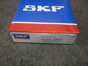 NEW SKF BEARING # 6009-2RS1