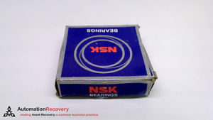 NSK 6208VVC3 , RADIAL GROOVE BALL BEARING , ID 40 MM , OD 80 MM ,, NEW #216193