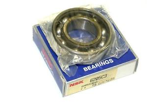 BRAND NEW IN BOX NSK BALL BEARING 25MM X 52MM X 15MM 6205C3 (6 AVAILABLE)