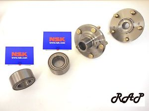 Front Wheel Hub & NSK Bearing Assembly L/R Set HONDA ACCORD/ ELEM/ CR-V/ ACURA