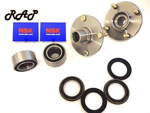 Front Wheel Hub & NSK Bearing Assembly Left and Right Set Fits ALTIMA 1998-2001