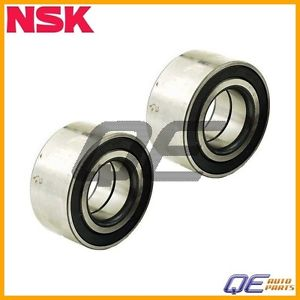 2 Front Wheel Bearing NSK 91051689023 For: Honda Accord 82-85 Prelude 1981-1984