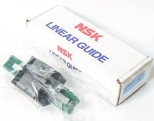 NSK LAS20-CLZ Linear Rail Ball Guide, 20mm Rail Size, Standard Block, JAPAN