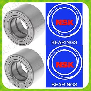 NSK FRONT WHEEL HUB BEARING FOR HONDA CIVIC CX DX LX VX 1992-2000-NO-ABS PAIR