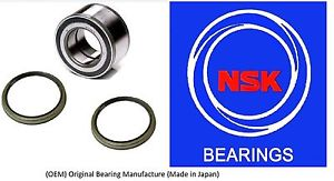Front Wheel Hub Bearing & Seal For NISSAN ALTIMA 1993-2001 (OEM) (NSK)