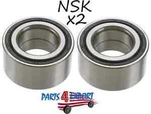 NEW Acura Prelude Honda CR-V SET OF 2 Front Wheel Bearing NSK 44300 S84 A02