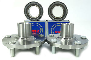 NSK Japanese Wheel Bearing w/FRONT Hub Set 851-81001 for Nissan Maxima '00-'08