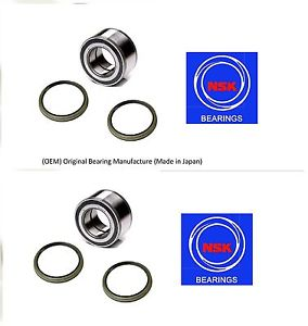 Front Wheel Hub Bearing & Seal For NISSAN AXXESS 1990-1995 (OEM) (NSK) (PAIR)