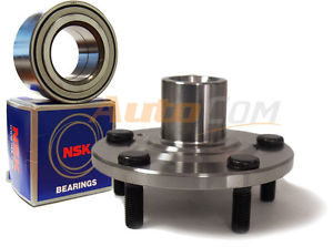 NSK Wheel Bearing w/ Autocom FRONT Hub 841-72009 Acura CL 01-03