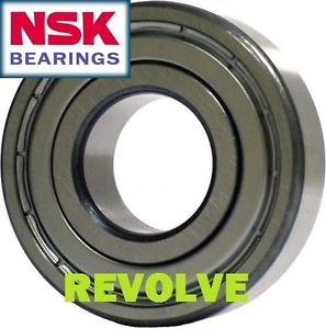NSK 6205 ZZ Metric Bearing. NSK 6205ZZ Metal Shielded Bearing – 25x52x15mm