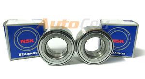 PAIR of NSK Japanese OEM Front Wheel Bearings 40210-4Z000