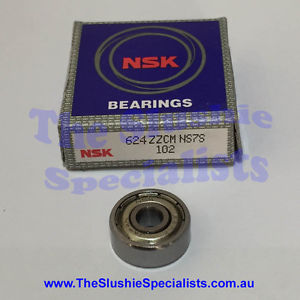 NSK Bearing 624ZZ – Made in Japan – Best Quality Available – Individually Boxed