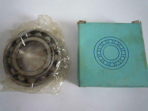 NSK BEARING N208 NEW/OLD STOCK ID.40mm X OD.80mm X Width 18mm
