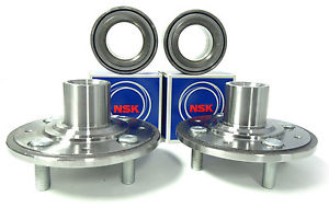 NSK OEM Wheel Bearings w/ FRONT Hub SET 851-72023 Integra Special Edition 95-96