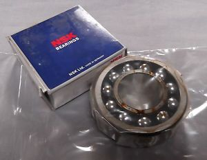 Genuine NSK Open type Self aligning Bearing 30mm x 80mm x 31mm 2307KTNGC3