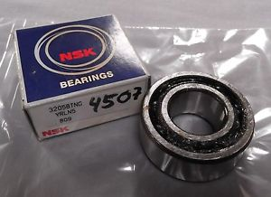 Genuine NSK Double row Angular Contact Bearing with Polyamide cage 3205BTNG