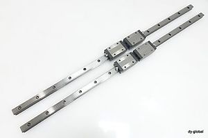 SHS20V2UU+830mm THK Linear Bearing Used LM Guide 2Rail 4Block NSK CNC Route