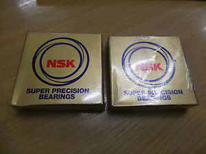 NSK 7911A5TRSULP3 Super Precision Bearings – Angular Contact x 2 – NEW