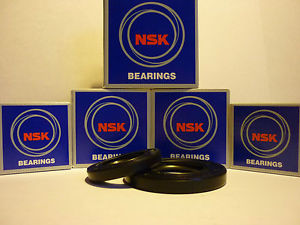 SUZUKI GSF600 BANDIT 96 – 04 OEM SPEC NSK FRONT & REAR WHEEL BEARINGS & SEALS