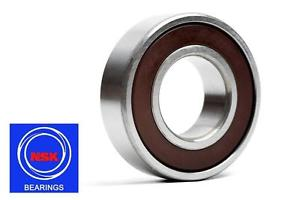 6302 15x42x13mm DDU Rubber Sealed 2RS NSK Radial Deep Groove Ball Bearing