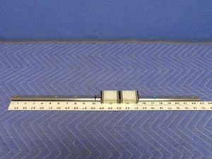 """22-7/8"""" NSK SS150580ALK2K01P61 Rail and Two NSK S15 Bearings Y15"""