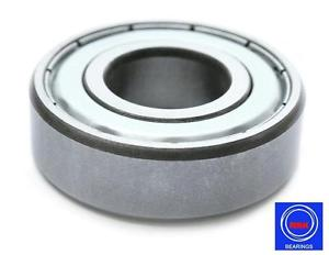 6305 25x62x17mm C3 2Z ZZ Metal Shielded NSK Radial Deep Groove Ball Bearing