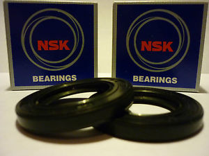 KAWASAKI ZX10 88-90 B1-B3 OEM SPEC NSK FRONT WHEEL BEARINGS & SEAL KIT