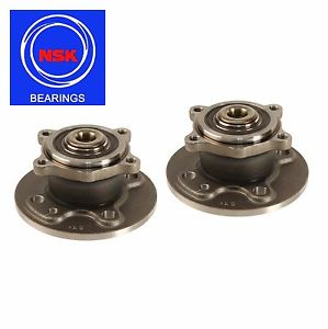 Mini Cooper R52 Set of 2 Rear Left+Right Wheel Hub with Bearing NSK 33416786552