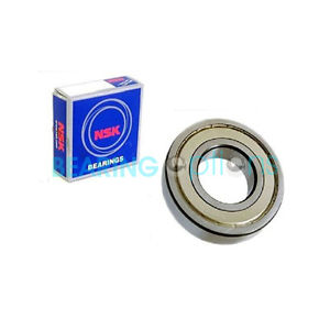 NSK 6200 – 6209 ZZ Series Metal Sealed Bearings