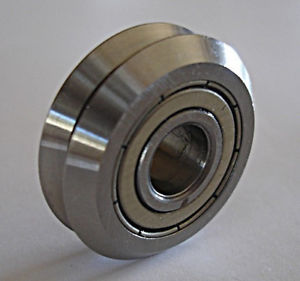 """RM1ZZ 3/16"""" V-GROOVE CNC BEARING 8 PCS ~ FACTORY NEW ~ SHIPS FROM THE U.S.A."""