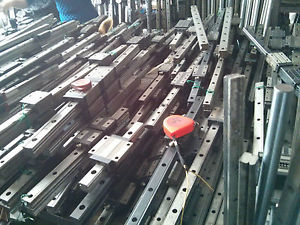 THK SSR20XW NSK IKO Used Linear Guide Rail Bearing CNC Router Various Length